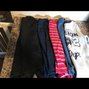 Other - Set of 5 Boys long sleeve shirts